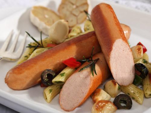 Chicken Garlic Sausages