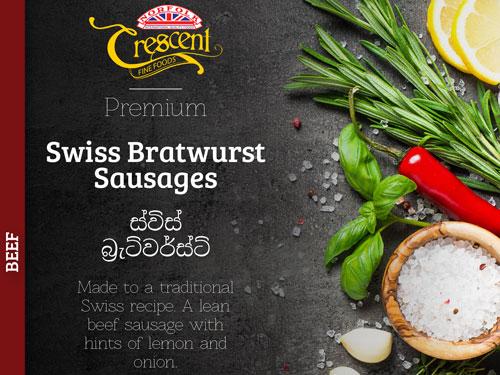 Beef Bratwurst Sausages