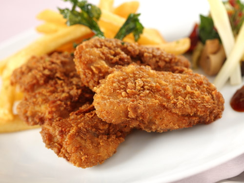Southern Fried Chicken Thighs