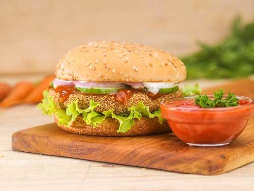 Vegetable Burger (80g)