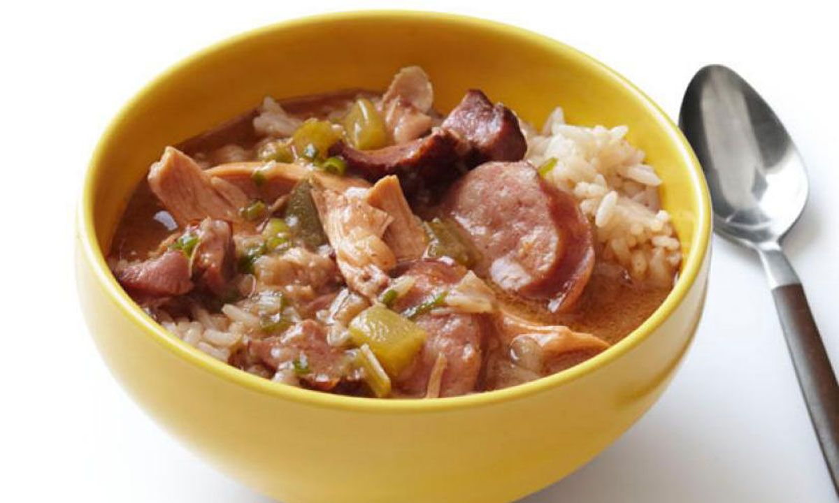 Crescent Sausage and Chicken Gumbo